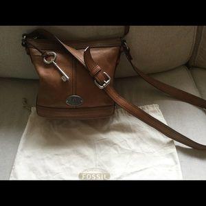 """Fossil """"Maddox"""" leather crossbody bag"""